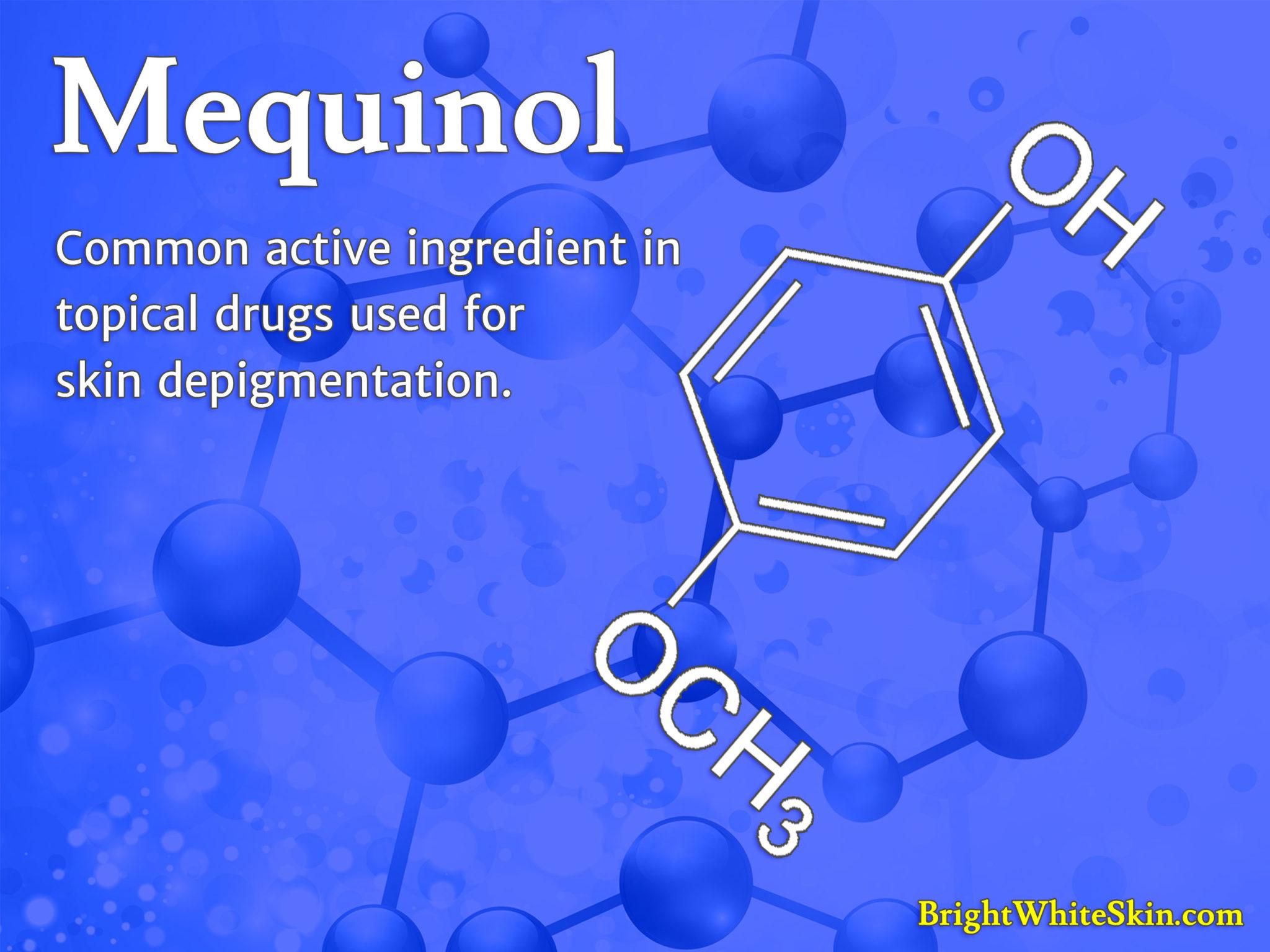 Mequinol Skin Depigmentation